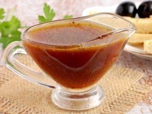 Мед и соевый соус