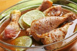 замариновать курицу для духовки
