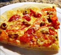 Рецепт пиццы на кефире в духовке