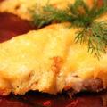 свинина с сыром в духовке