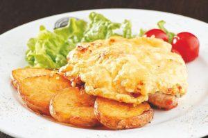 свинина с сыром и картофелем