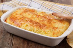 рецепт запеканки из макарон в духовке