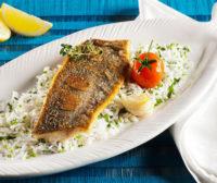 рыба с рисом в духовке