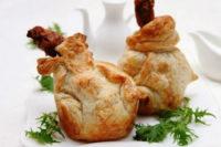 Курица в тесте в духовке