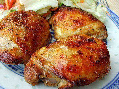Рецепт куриное бедро с картошкой в духовке рецепт с пошагово