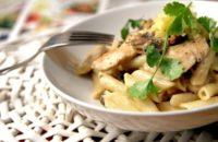 курица с макаронами в духовке