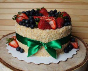 торт в духовке наполеон