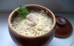 рисовая каша в духовке