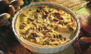 пирог с грибами в духовке