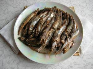 Рыба в рукаве в духовке
