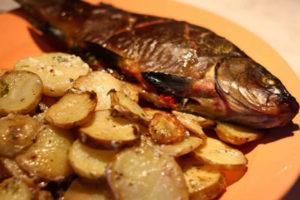 Линь в духовке рецепт