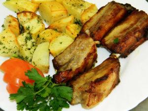 ребрышки свиные в духовке простой рецепт