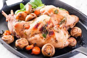 Рецепт кролика в сметане в духовке