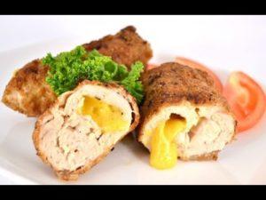 Рулет из курицы в духовке