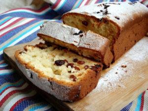 Рецепт кекса с изюмом в духовке