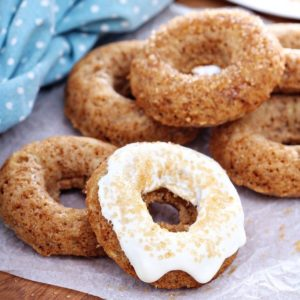 пончики в духовке