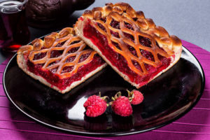 рецепт сладкого пирога в духовке