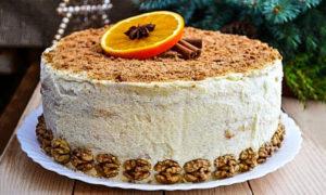 творожный торт в духовке