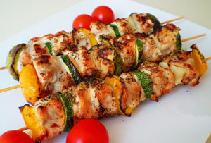 кабачки с куриным филе в духовке