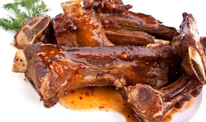 Говяжьи ребрышки с картофелем - пошаговый рецепт с фото на Повар.ру | 412x692